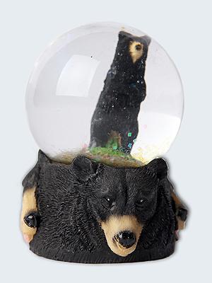 Wolfcenter, Onlineshop, Souvenirs, Schneekugel, Bär