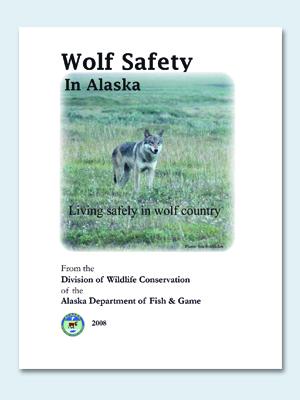Wolfcenter, Frank Faß, Studie, Wolf safety in Alaska