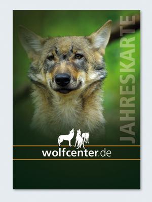 Wolfcenter, Onlineshop, Eintritt, Jahreskarte