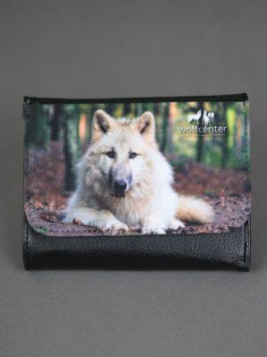 Wolfcenter, Onlineshop, Accessoires, Geldbörsen, Portemonnaie, Wolf, weißer Wolf