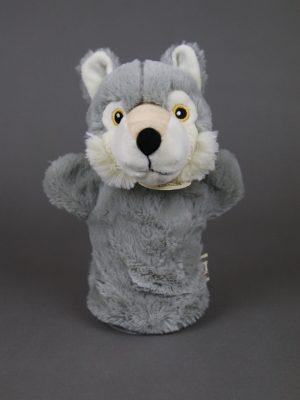 Wolfcenter, Onlineshop, Plüschtiere, Handpuppe, Wolf
