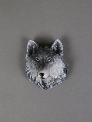 Wolfcenter, Onlineshop, Souvenirs, Magnete, Wolfskopf, Wolf