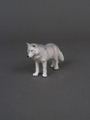 Wolfcenter, Onlineshop, Spielzeuge, Figuren, Papo, Polarwolf, weiß