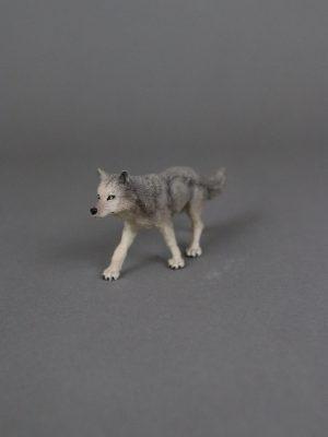 Wolfcenter, Onlineshop, Spielzeuge, Figuren, Papo, Wolf, grau