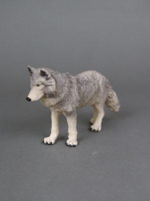 Wolfcenter, Onlineshop, Spielzeuge, Figuren, Wolf, grau, Papo