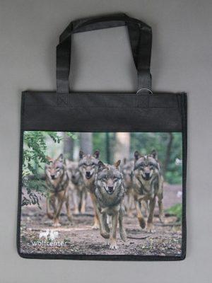 Wolfcenter, Onlineshop, Accessoires, Taschen, laufende Wölfe, Rudel,Beutel