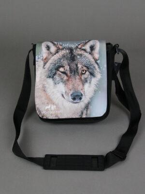 Wolfcenter, Onlineshop, Accessoires, Taschen, Grauwolf, Zwinkernd