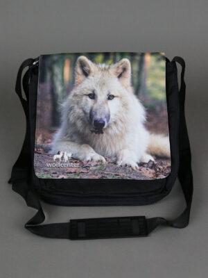 Wolfcenter, Onlineshop, Accessoires, Taschen, weißer Wolf