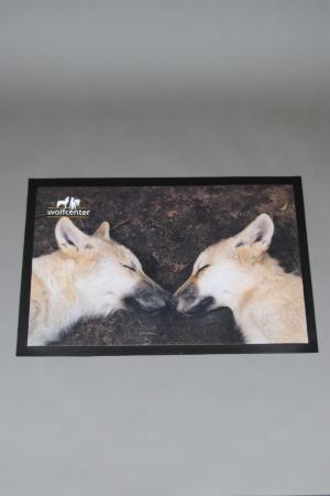 Wolfcenter, Onlineshop, Souvenirs, Fußmatten, Wolf