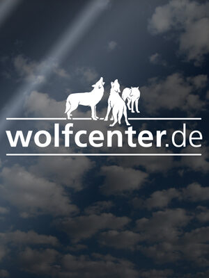 Wolfcenter, Onlineshop, Souvenirs, Aufkleber, Heckscheibe, Logo