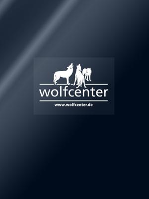 Wolfcenter, Onlineshop, Souvenirs, Aufkleber, Auto, Logo