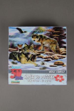 Wolfcenter, Onlineshop, Spielzeug, 3D Puzzle