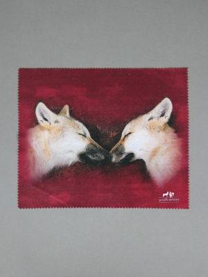 Wolfcenter, Onlineshop, Souvenirs, Brillenputztücher, Wolf
