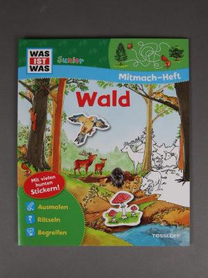 Wolfcenter, Onlineshop, Bücher, Mitmach-Heft, Wald, Was ist was?