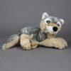 Wolfcenter, Onlineshop, Plüschtiere, Wolf, liegend
