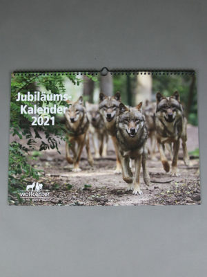 Wolfcenter Dörverden, Onlineshop, Kalender 2021