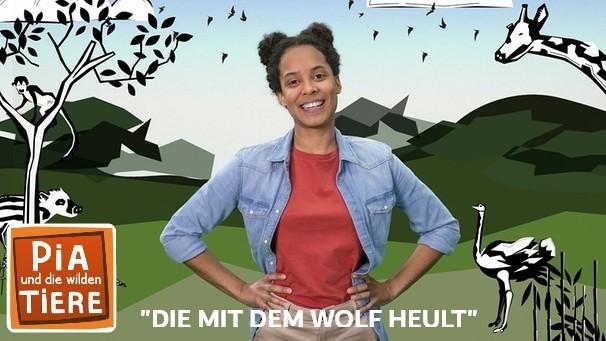 Wolfcenter Dörverden, Frank Fass, KIKA, Pia und die wilden Tiere, Die mit dem Wolf heult