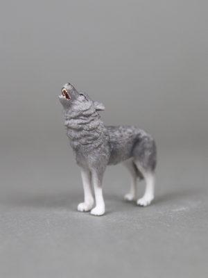 Wolfcenter Dörverden, Onlineshop, Spielfigur, heulender Wolf